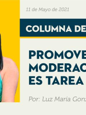 promover la moderación